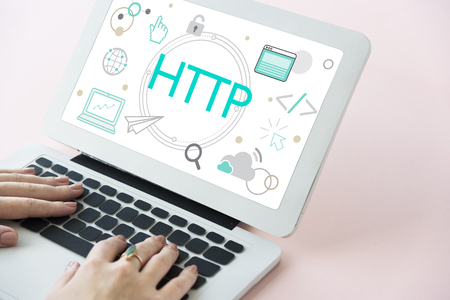 HTML HTTP Web Design Hompage Icon Stock Photo - 76138457