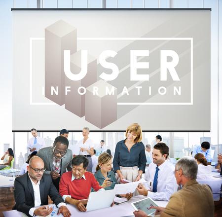 User Customer Identity Interface Member System Imagens