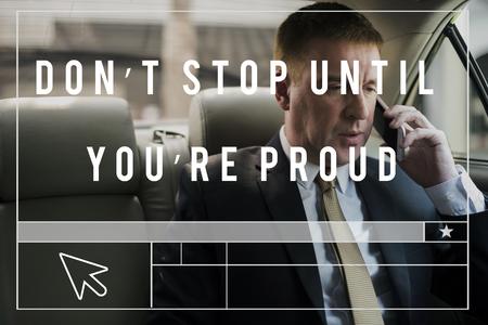 Dont Stop Until Youre Proud Motivation Quote