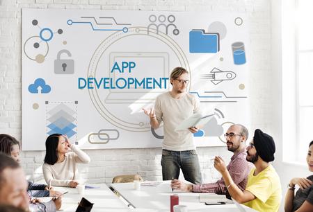 Technology App Development Computer System