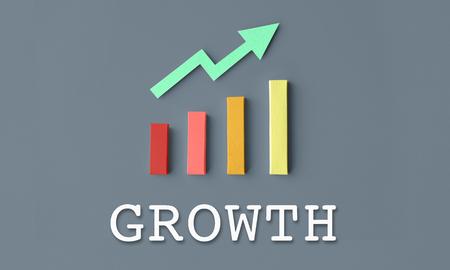 Finance Economic Progress Analysis Concept Stok Fotoğraf