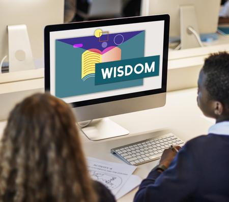 Education Knowledge Acquisition WIsdom Literacy Textbook Фото со стока