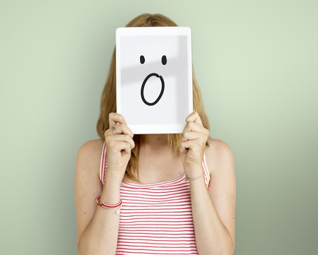 Face Expressions Illustrations Emotions Feelings Stock Photo