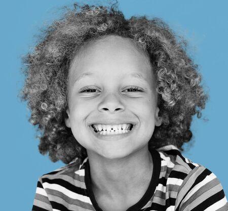 Little Boy Having Fun Portrait