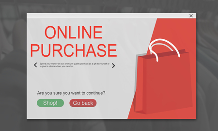 Online Shopping Cart E-Commers Concept Stock Photo - 76254774