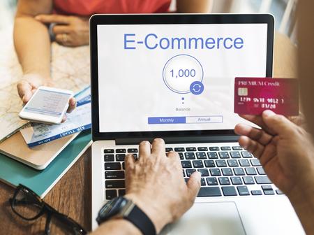 Online Banking Internet Finance E-Commerce 版權商用圖片 - 76254845