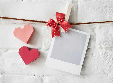 Instafilm Photography Heart Decoration Love Stock Photo