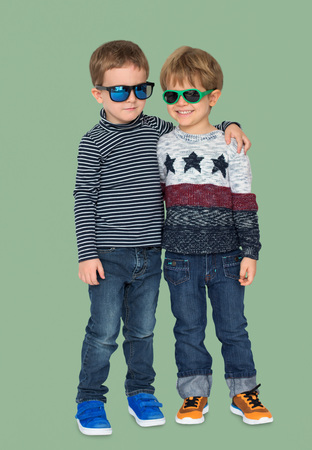 Boys Brother Friends Kid Casual Studio