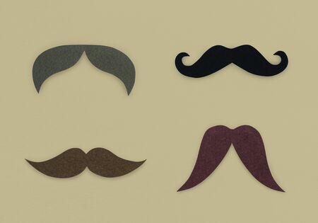 Moustache Facial Hair Icon Symbol