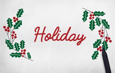 Merry Christmas Family Time Celebration Holiday Concept Banco de Imagens