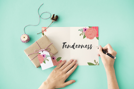 Tenderness Love Letter Message Words Graphic