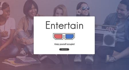 radio activity: 3D Glasses Movie Media Entertainment