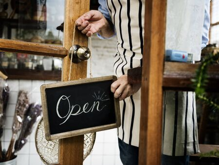 Retail Shop Store Sale Open Business Commerce Фото со стока