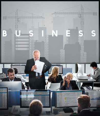 Business Development Innovation Expansion Concept Stock Photo