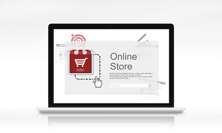 e commerce icon: Online Payment Purchase E-Commerce Buy Icon Stock Photo