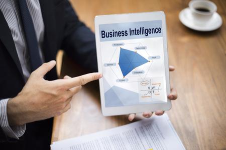 Information Performance Business Intelligence Communication Stock Photo