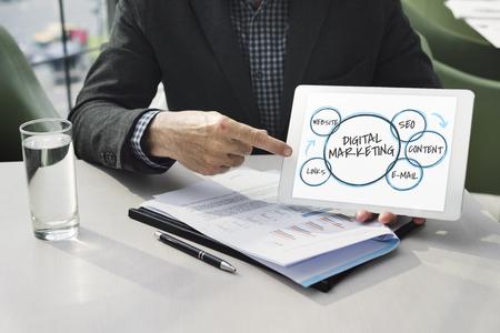 Digital Marketing Branding Loyalty Graphics