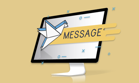 Mail Postal Communication Connection Correspondence Stock Photo