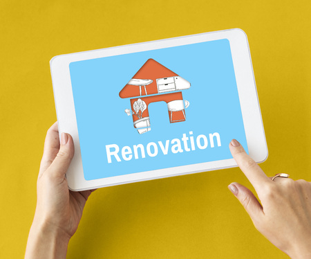 Apartment Home Your Space Decoration Renovation Style Stock Photo