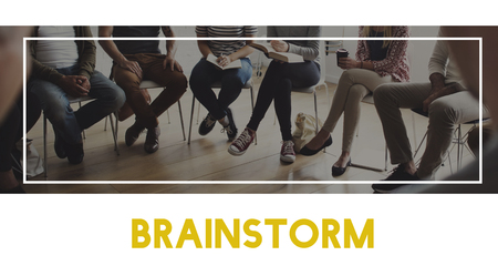 Business Diversity Teamwork Brainstorm Word
