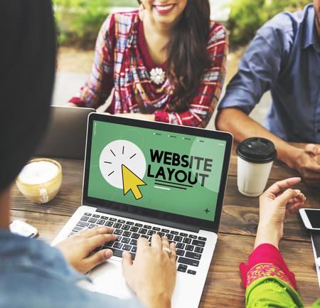 mouse: Friends discussing web site development