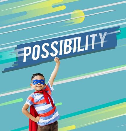 Possibilité Icône de probabilité souhaitable Banque d'images - 76363543