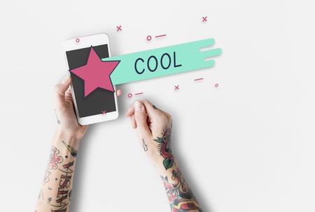 Cool Style Fashion Sense Trendy Stok Fotoğraf