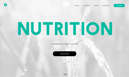 vigor: Healthy lifestyle online webpage interface