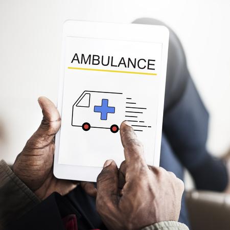 Ambulance Accidental Emergency Urgent Situation Reklamní fotografie