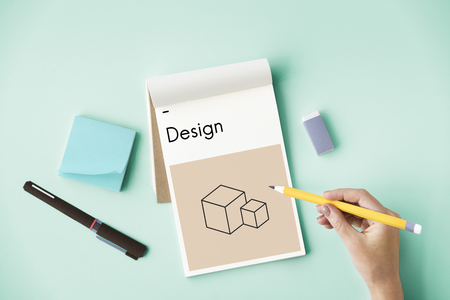 Design Creative Inspirational Unique Special Stock Photo