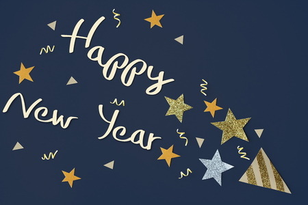 Celebration Happiness Season Surprised Concept Banco de Imagens