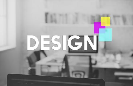 Design Ideas Creativity Colorful BLock Imagens