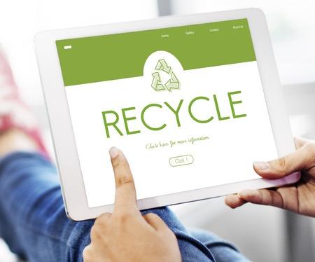 Recycle Environmental Conservation Nature Ecology Фото со стока