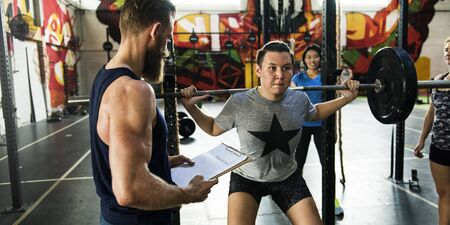 Active People Sport Workout Concept Banco de Imagens - 76466795