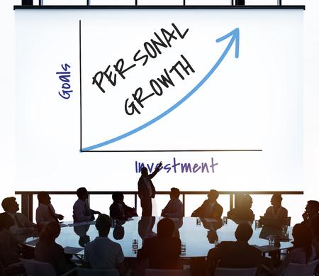 Value Personal Development Stock Market Stock Stock Photo