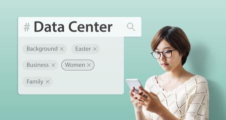 keyword research: Search engine box random concept