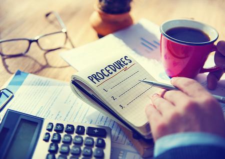 Procedures List Planning Lines Strategy