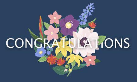 Celebration Congratulation Welcome Appreciation Greetings Stock Photo