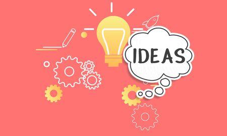 Creative Ideas Thought Light Bulb Icon