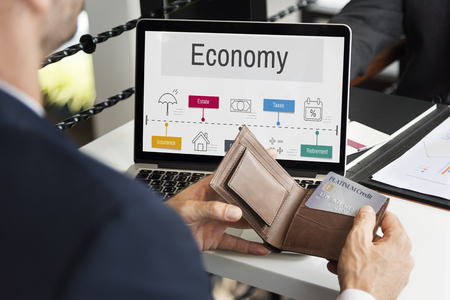 Economy Trade Financial Accounting Icons Stock Photo - 76472852