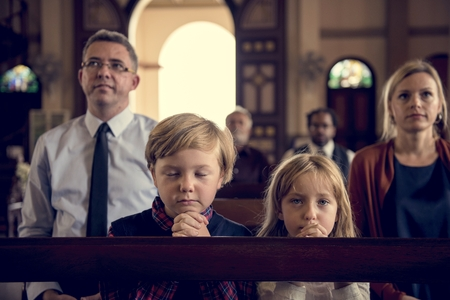 Church People Believe Faith Religious Stock Photo - 76473388