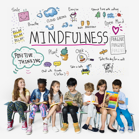 Happiness group of optimistic students have mindfulness leisure activity