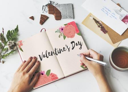 Valentine Day February Celebrate Affection Love Stock Photo