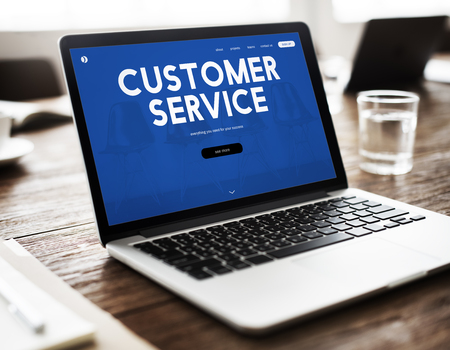 contact info: Customer care webpage interface word