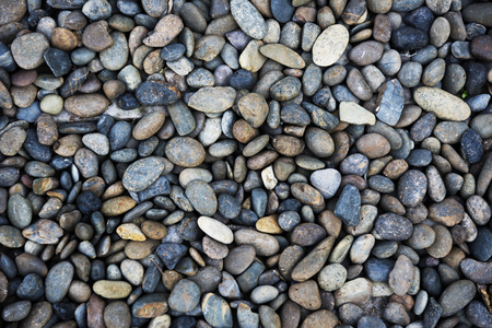 Color Sear River Pebble Stone Background Stok Fotoğraf