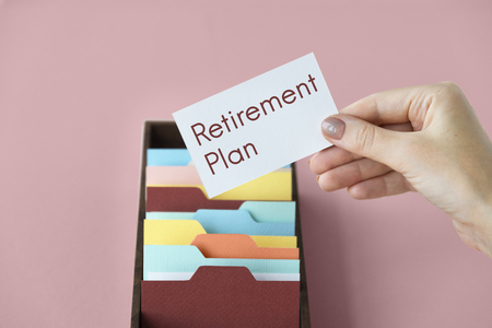 Professional Service Investment Retirement Financial Planning Stock Photo - 76778429