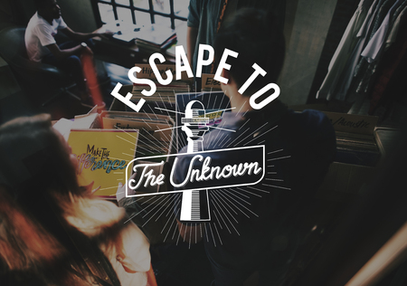 Escape unknown word young people