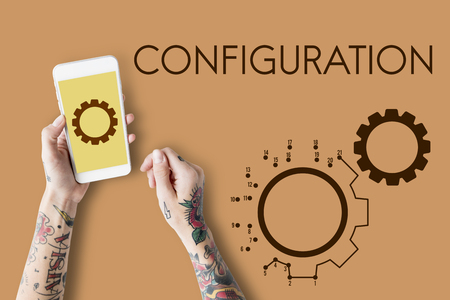 Cog Configuration Setting Icon Graphics Stok Fotoğraf - 82424930