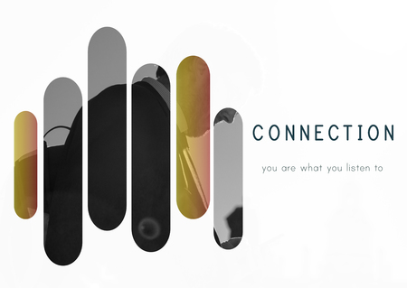 Technology Connection Digital Life Icon Stock Photo