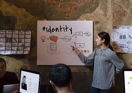 laptop outside: Creative Ideas Identity Product Develop Design